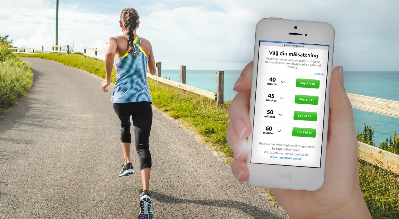springa milen under 40