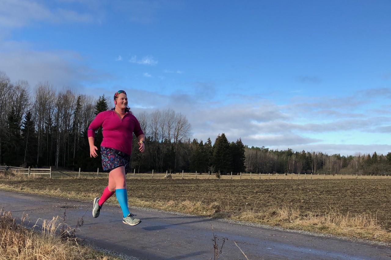 dålig i magen efter löpning
