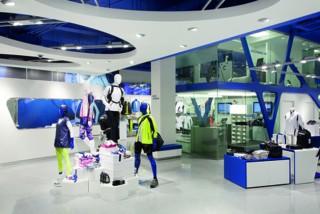 87299ce5537 En vision av hur den nya Asics-butiken mitt i Stockholm ska se ut.