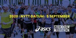 ASICS Stockholm Marathon flyttas till den 5 september