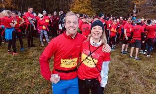 Christoffer van Woensel och Sara Larsson.